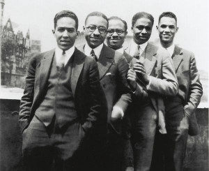 Langston Hughes, Charles S. Johnson, E. Franklin Frazier, Rudolph ...