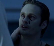 blood,blue,crying,emotion,eric,northman,fantasy,sad,tears,true,blood ...