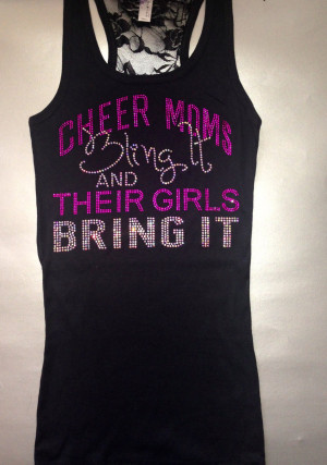 Cute Cheer Shirts Ladies cheer mom shirt.