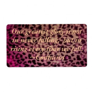 Leopard Print in Multi Pink Labels