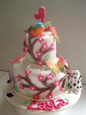 Cutest Dog Themed Birthday Cake
