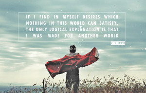 inspiration from C.S. Lewis
