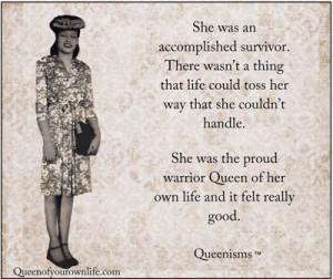 Warrior Queen | Queen of Your Own Life