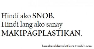 Tagalog Quotes Patama SA Ex