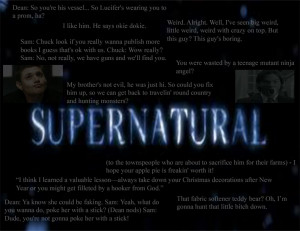 Supernatural Quotes by TheNewFireDancer