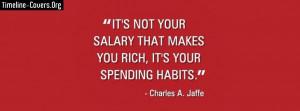 Spending Habits Quote