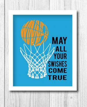 ... Sport Print, Kids Decor, Basketball Print,