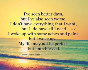 Thank You God For Another Day!