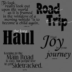 quotes about road trippin share