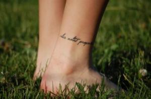 on foot quotes on foot foot tattoos tattoos tattoo designs tattoo ...