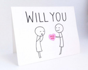 Cute Lesbian Valentines Day Card // Funny Card for Her // Humorous ...