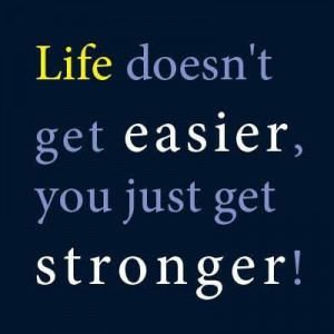 getting stronger every day :)
