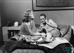 Faye Dunaway and Paul Newman