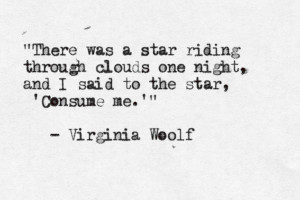 typewrittenword:The Waves by Virginia Woolf