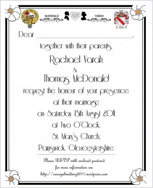Gallery of Prepare the Wedding Invitation Quotes Well