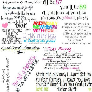 ... by taylor swift taylor swift quotes from songs from taylor swift songs