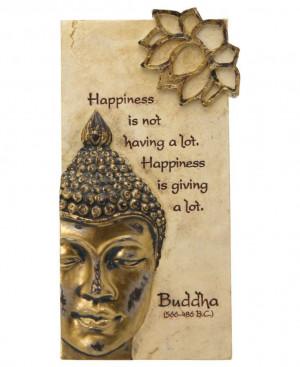 Hand painted Buddha quote wall art. Buddha wall art available at ...