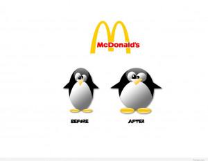 Funny McDonald's quote hd wallpaper
