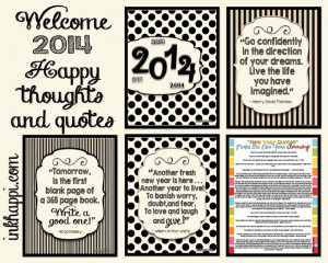 Happy Thoughts for the week of 1.06.2014:
