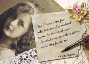 Pablo Neruda Quotes En Espanol Love quote by pablo neruda