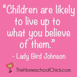 great quote from Lady Bird Johnson!