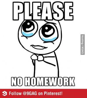 No homework debate