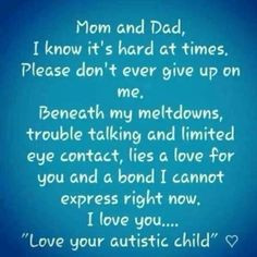 Quotes & Sayings Regarding Autism on Pinterest
