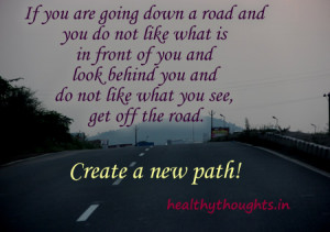 inspirational quotes-create your own path