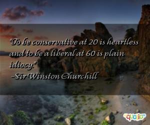 winston churchill quotes liberal conservative