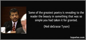 More Neil deGrasse Tyson Quotes