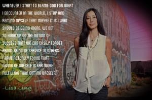 Women: Lisa Ling