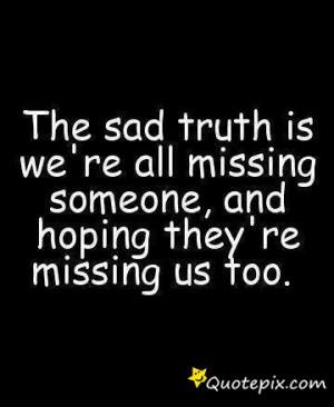 Sad teen quote
