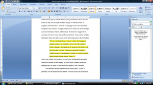 inch if you are citing multiple paragraphs your parenthetical citation ...