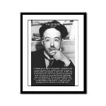 de Broglie: Quantum Waves Framed Panel Print
