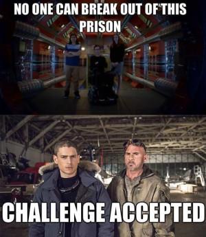 The Flash / Prison Break funny meme