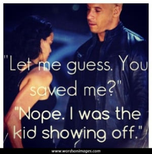 Fast and furious love quotes