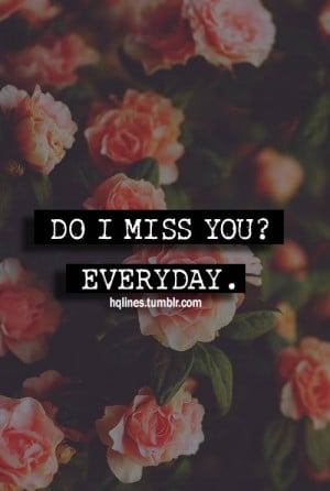 miss you so much - Thoughtfull quotes Picture