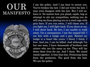 We are the police. #Police #Quotes