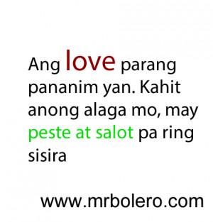Patama Quotes Tagalog Para Sa Mga Ex ~ Best Patama Quotes Tagalog Love ...