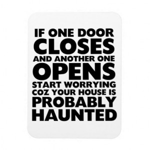 funny_motivation_quotes_haunted_house_magnet ...