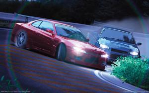 Drifting Nissans Wallpapers