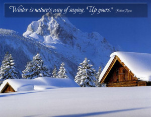 one kind word can warm three winter months winter must be cold for ...