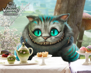 """Cheshire Cat and other characters of """"Alice in Wonderland"""""""