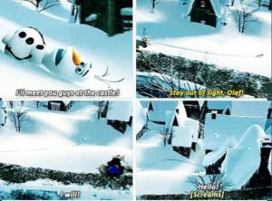 Olaf The Snowman Quotes Princess Olaf The Snowman