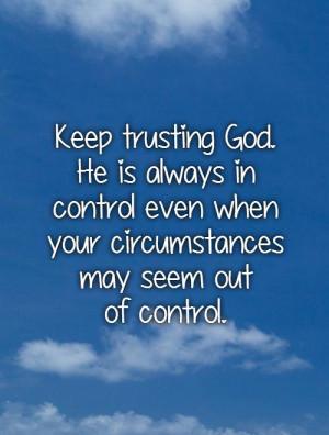 Trust In God Quotes