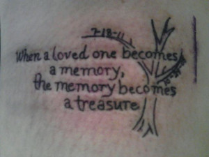 Memory tattoo for my grandpa, uncle, an best friend