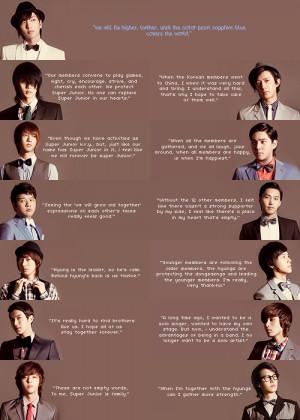 Quotes on Super Junior - sweet quotes cute funny inspiring quote ...