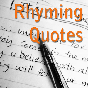Funny Rhyming Quotes