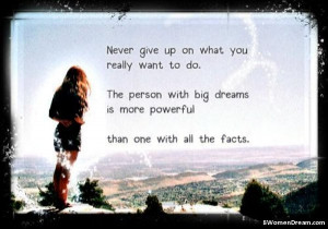 Inspirational Picture Quotes: The Person With Big Dreams - Einstein