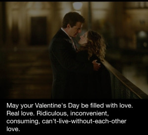 Sex and The City Quote #Happy Valentine's Day H